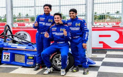 Ashwin Datta leads podium sweep for Team Momentum
