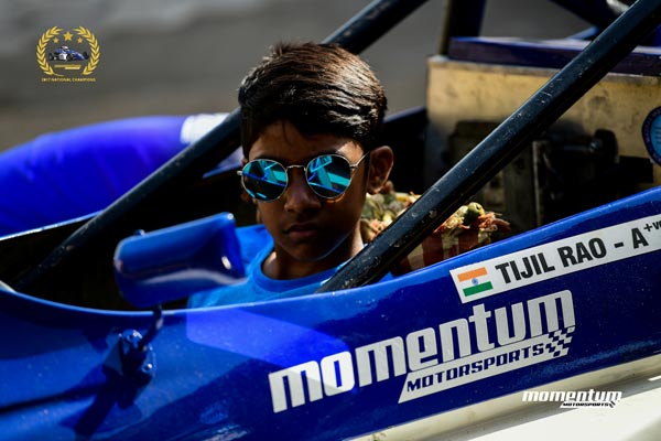 Tijil Rao – The Youngest Racer in the 2018 National Racing